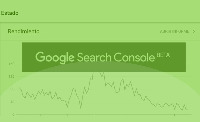 Search Console Beta - Nueva plataforma