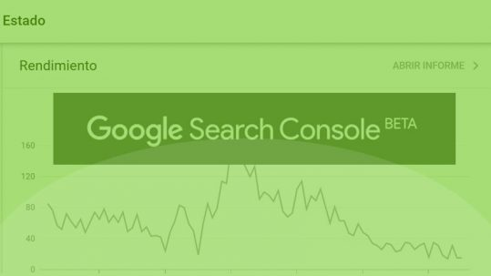 Search Console Beta - Nueva plataforma