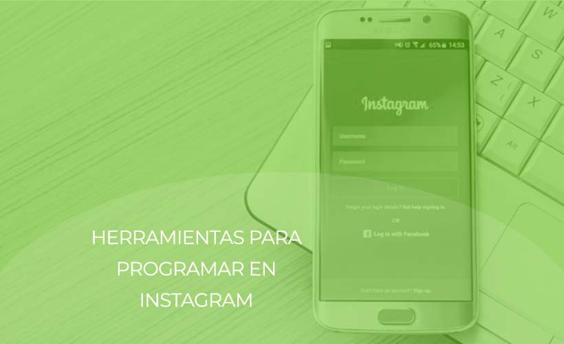 herramientas programar instagram