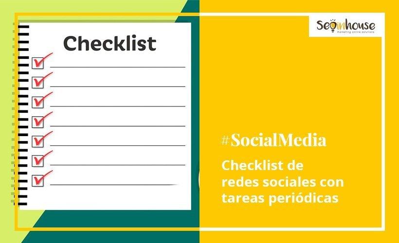 Checklist para redes sociales