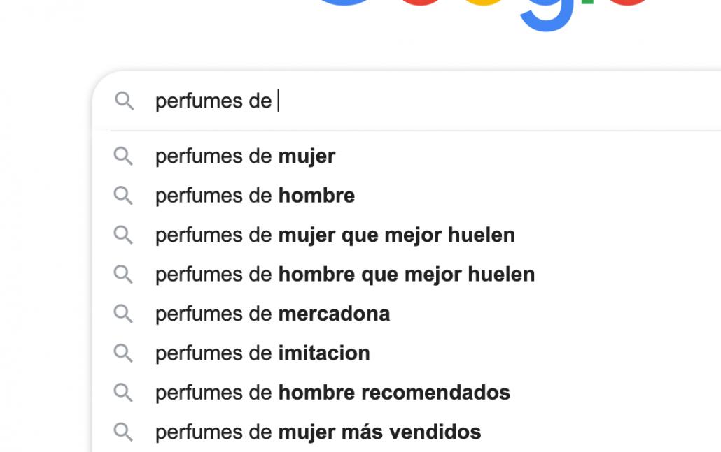 busquedas relacionadas en google.es